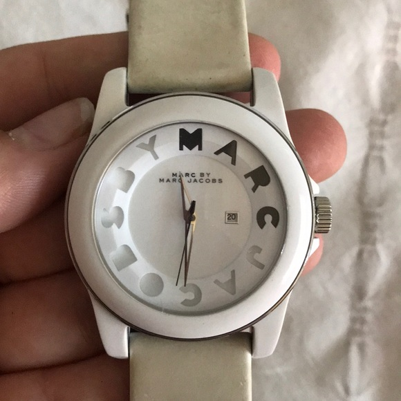 Marc By Marc Jacobs Jewelry - Marc Jacobs white watch